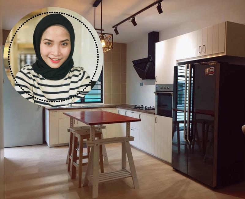 Kos Buat Kabinet Dapur Jadi Tak Mahal Kalau Ikut Trik Wanita Ini
