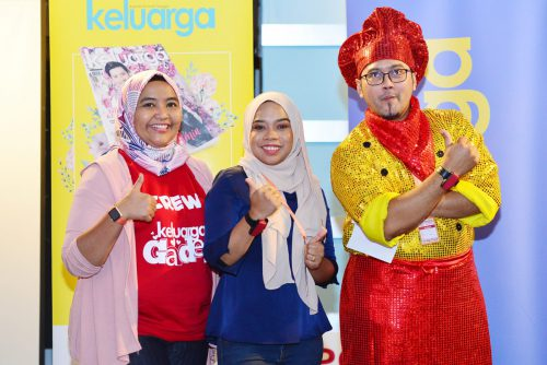 FEB 02 2019 KELUARGA HASLIZA EVENT BREAKFAST LOVE